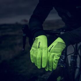 GripGrab Ride Waterproof Hi-Vis Thermal Hi-Vis Waterproof Winter Gloves fluo yellow